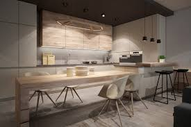 Kitchen Designs Durban by Modern Kitchen With Light Wood Interior Design Ideas