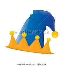 christmas elf hat vector illustration stock vector 332590544