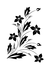 clipart flower ornament