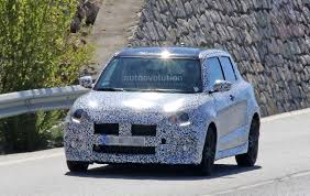 suzuki turbo 2017 suzuki swift sport makes spy photo debut autoevolution