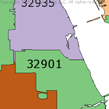 melbourne fl map melbourne florida zip code boundary map fl