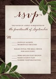 rsvp wedding wedding rsvp wording and card etiquette shutterfly