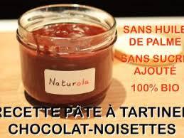 tele 7 jours recettes cuisine recette bio de pâte à tartiner chocolat noisettes sans huile de