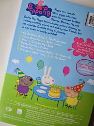 peppa pig birthday party dvd review giveaway sponsored