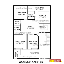 Home Plan Design 600 Sq Ft House Plan For 35 Feet By 50 Feet Plot Plot Size 195 Square Yards