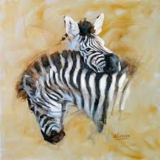 zebras sculpture art by peggy watkins