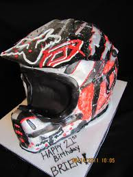 used motocross helmets dirt bike helmet cake this would be great for my bestfriend ty