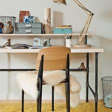 Chic Desks Industrial Chic Desk Martha Stewart