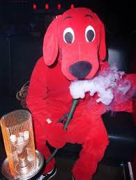 Clifford Big Red Dog Halloween Costume Clifford Big Red Dog Club Hilarious Jokes Funny