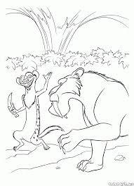 coloring page buck and diego