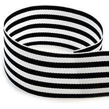 black and white striped ribbon 1 1 2 black white taffy striped grosgrain ribbon