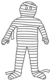 mummy coloring pages getcoloringpages com