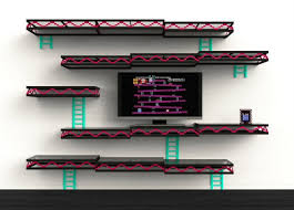 themed shelves videogame themed cave gentlemint