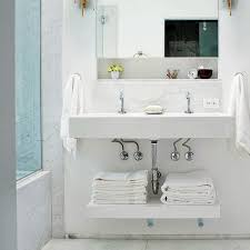 Storage Bathroom Bathroom Sink Sink Towel Storage Bathroom Rack Shelf