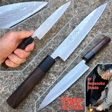 Devil Kitchen Knives Takefu Village Petty Utility Knife 150mm By Mr Masanobu Okada