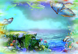 lakes turquoise lake butterfly designs animals four seasons