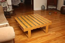 Living Room Pallet Table Markw Us Pallet Wood