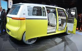 volkswagen concept van volkswagen i d buzz concept creating what its name suggests 8 21