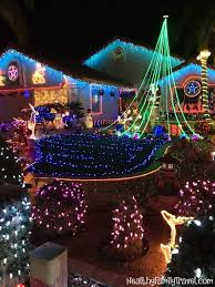 christmas light show ct christmas lights on candy cane lane in poway healthy family travel