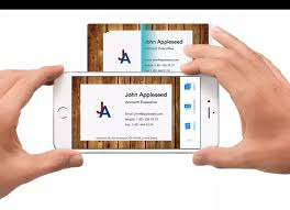 is there an ios app for importing business cards iphone