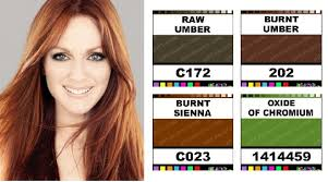 hair by season caygill hair paint pigment colors
