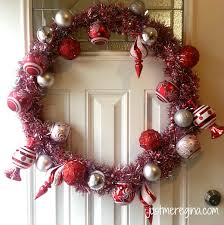 make your own christmas wreath just me regina