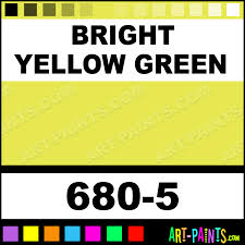 bright yellow green soft pastel paints 680 5 bright yellow