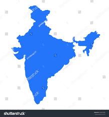 India Map World by India Map Isolated On White Background Stock Illustration