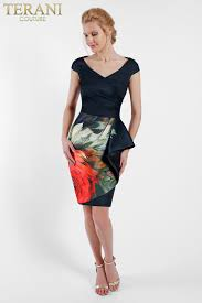 terani short after five fashion graduation dresses prom dresses