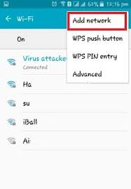 how to add to a on android how to add wifi network in android mobile