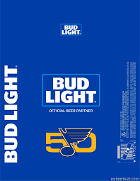 Bud Light Aluminum Bottle Bud Light St Louis Blues Aluminum Bottles Mybeerbuzz Com