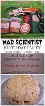 a mad scientist birthday party