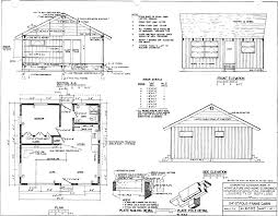 Floor Plans For Small Cabins by Free Small Cabin Plans