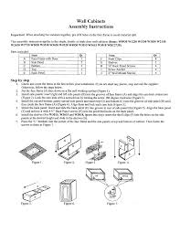rta cabinet assembly instructions jsi kitchen cabinets