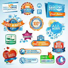 travel stickers images Set of travel labels and stickers royalty free cliparts vectors jpg