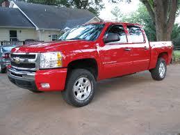 Red Lifted Chevy Silverado Truck - big red chevy u0027s profile in seneca sc cardomain com