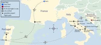 medjugorje tours pilgrimage to portugal italy medjugorje map