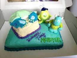 monsters inc baby shower cake monsters inc baby shower ideas baby shower gift ideas