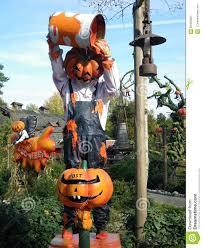 disneyland paris halloween pumpkins stock photo image 60400684