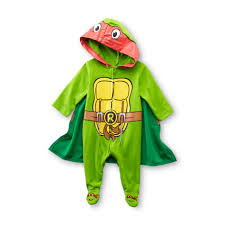 Teenage Mutant Ninja Turtles Halloween Costumes Girls Nickelodeon Newborn Boy U0027s Sleeper Pajamas Teenage Mutant Ninja