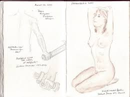 paper and threads more figure drawing practice with michaelangelo