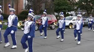 ellwood city halloween parade lincoln blue band 2016 youtube