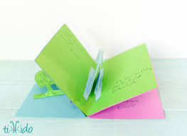 easy pop up card invitation tutorial tikkido