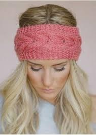 knitted headband solid knitted headband plusinlove