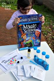 review magic science for wizards only science kit go science girls