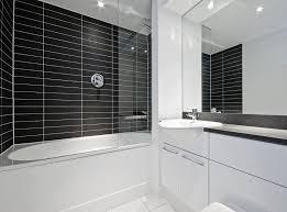 black white shower room interior design ideas loversiq
