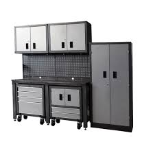 Metal Cabinets For Garage Storage by Metal Garage Storage Cabinets Home Depot Home Design Ideas