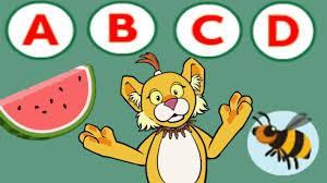 abcd alphabet funny game abc songs for children kindergarten