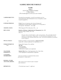 Example Of Education On Resume by Include Education On Resume Resume For Your Job Application