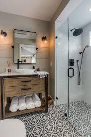 tile floor designs for bathrooms santa monica garage conversion transitional bathroom los